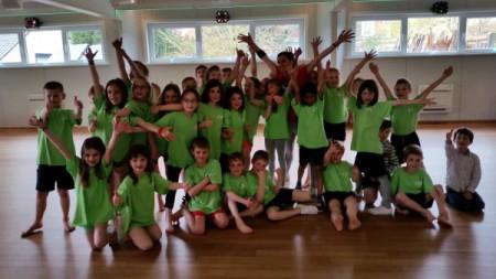 Dansschool Rocio voor het 2e leerjaar