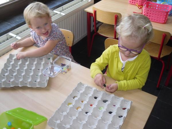 Bekend Vrije basisschool 'Sint-Denijs' Kalken | Fijne motoriek oefeningen #YV12