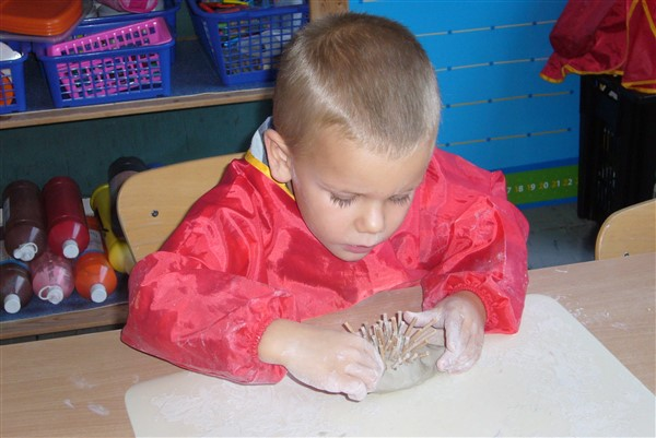 Egel Prikkebolletje in onze klas