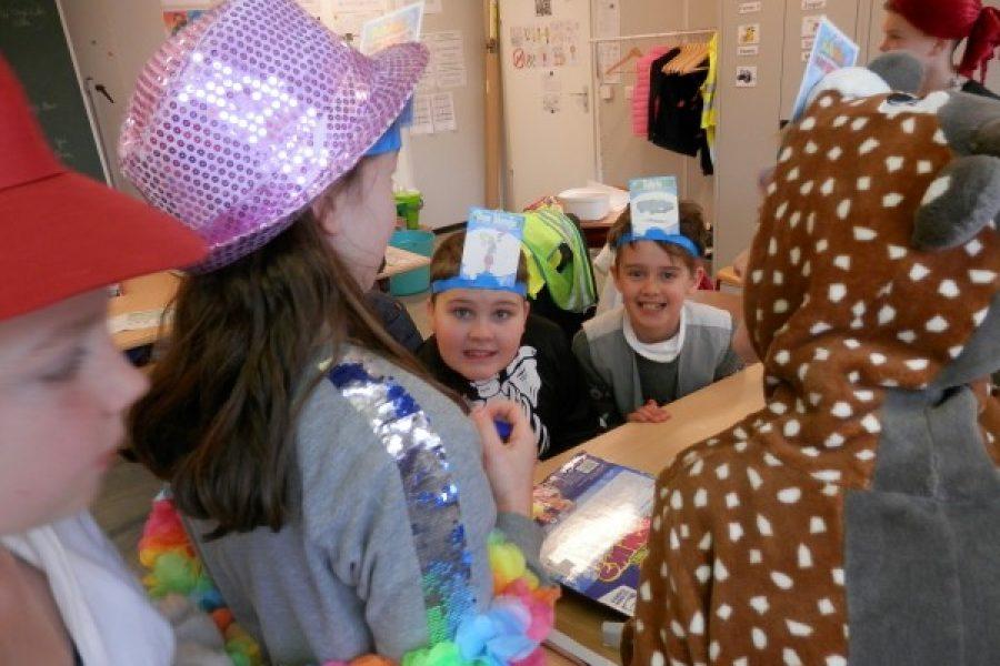 Carnavalfeestje in 5B