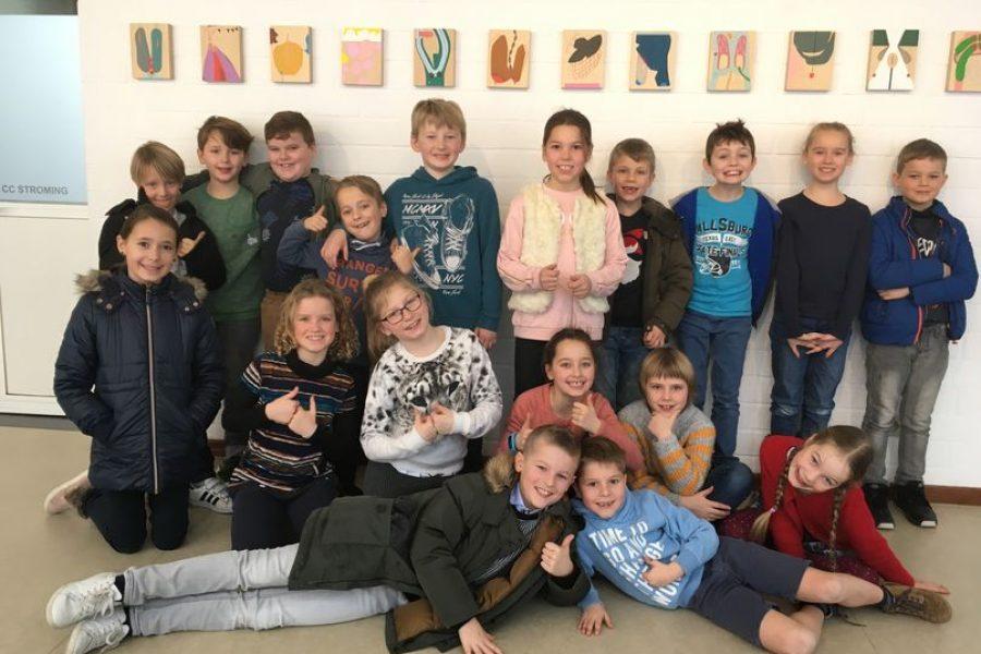 Workshop kunstwerkjes maken zoals Windy Corteel en een zoektocht in de bibliotheek van Berlare