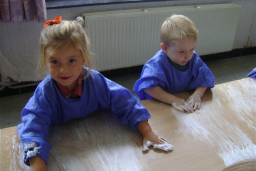 Schrijfdans in de Beertjesklas