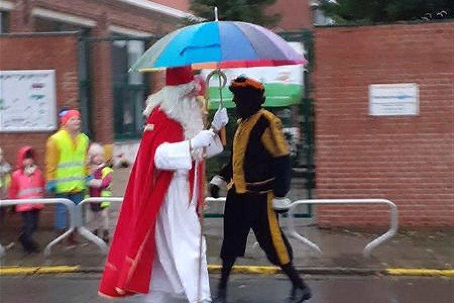 Op vrijdag 6 december kregen we bezoek van Sinterklaas!