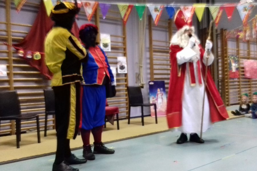 Sinterklaas op school!