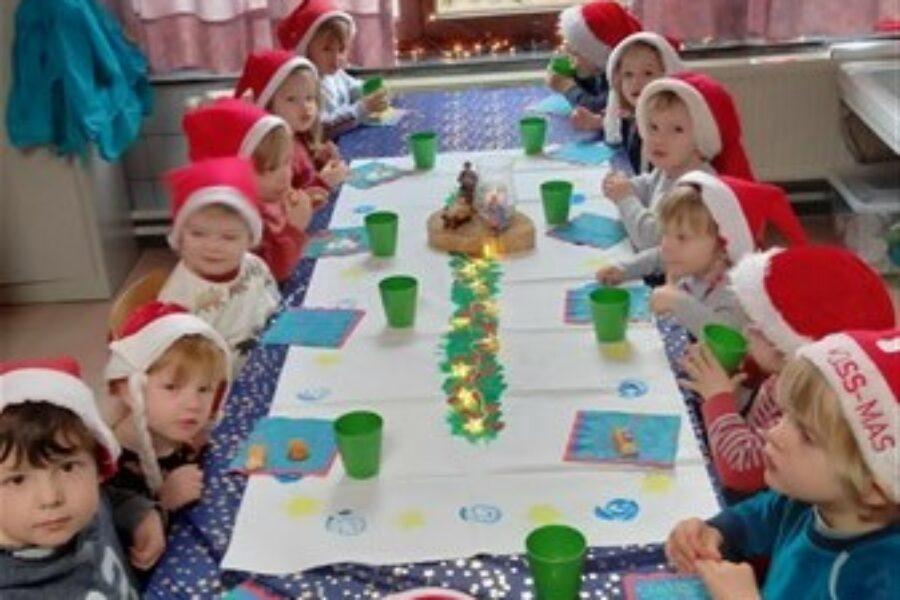 Samen kerstfeest vieren!