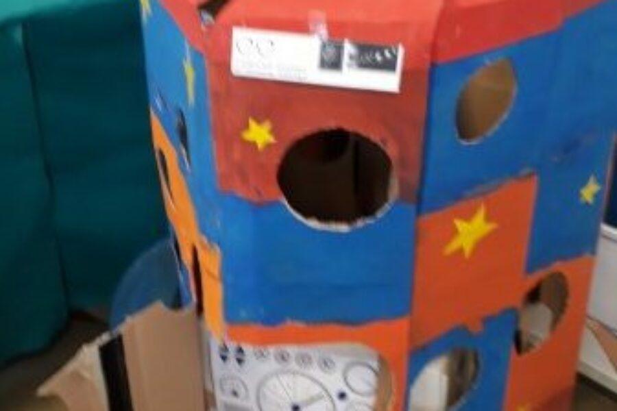 Fritz de astronaut was in onze klas!