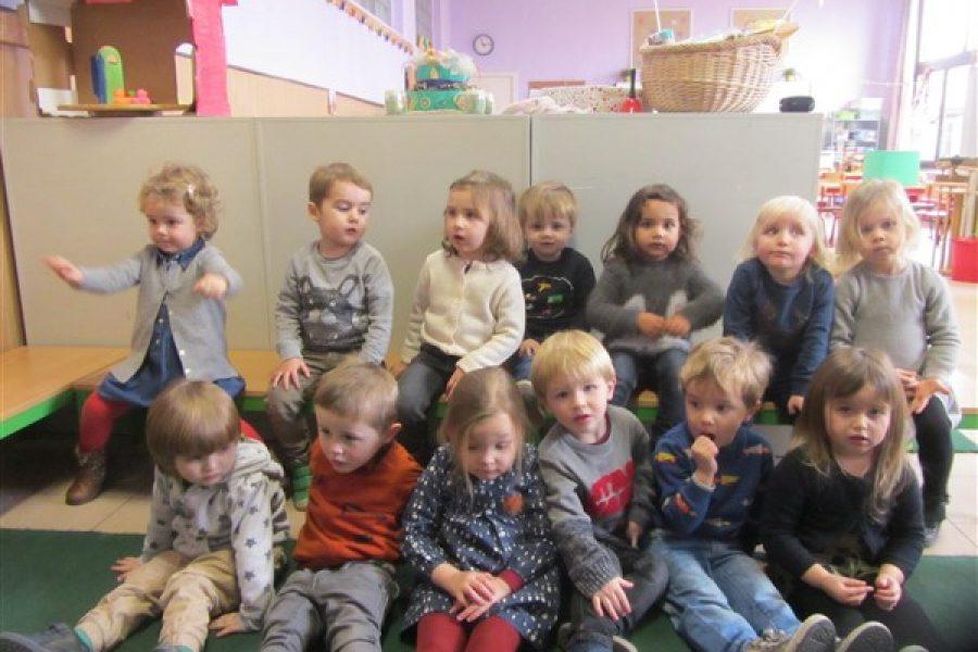 Nieuwe vriendjes in de bijtjesklas(themaloze week)