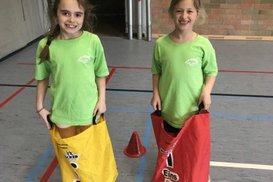 Een toffe sportweek voor het eerste leerjaar!