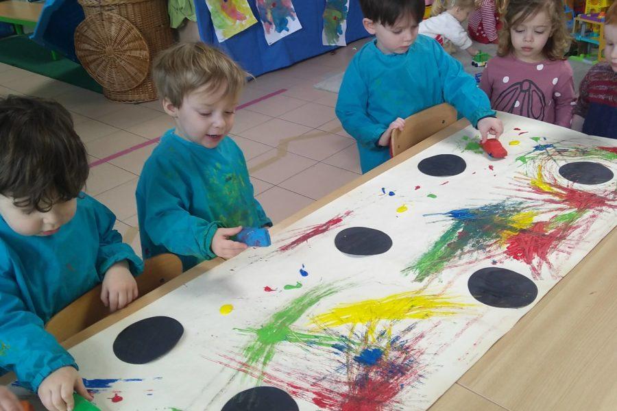 Kunst in de bijtjesklas!