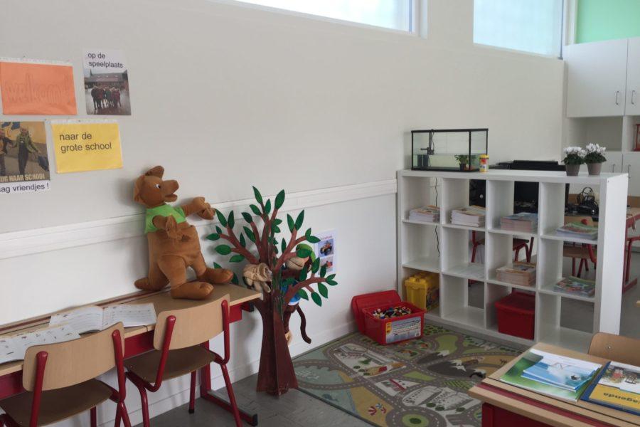 welkom in het eerste leerjaar. neem een kijkje in onze nieuwe klas