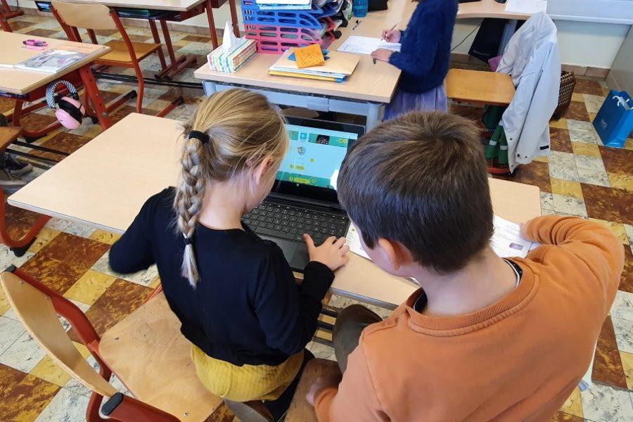 Echte ICT'ers in het 2de leerjaar!