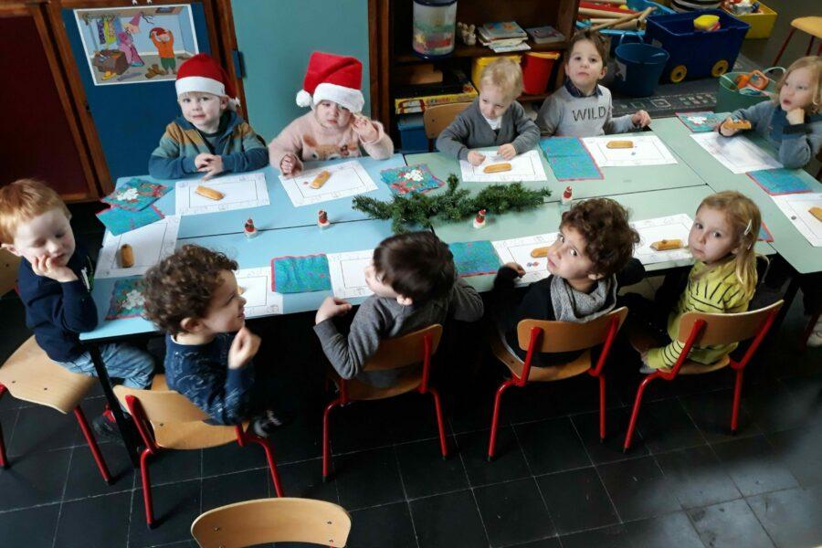 Kerst in de beertjesklas