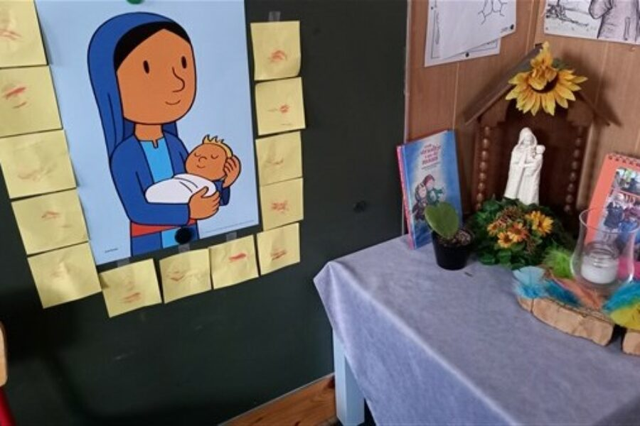 Maria, de mama van Jezus