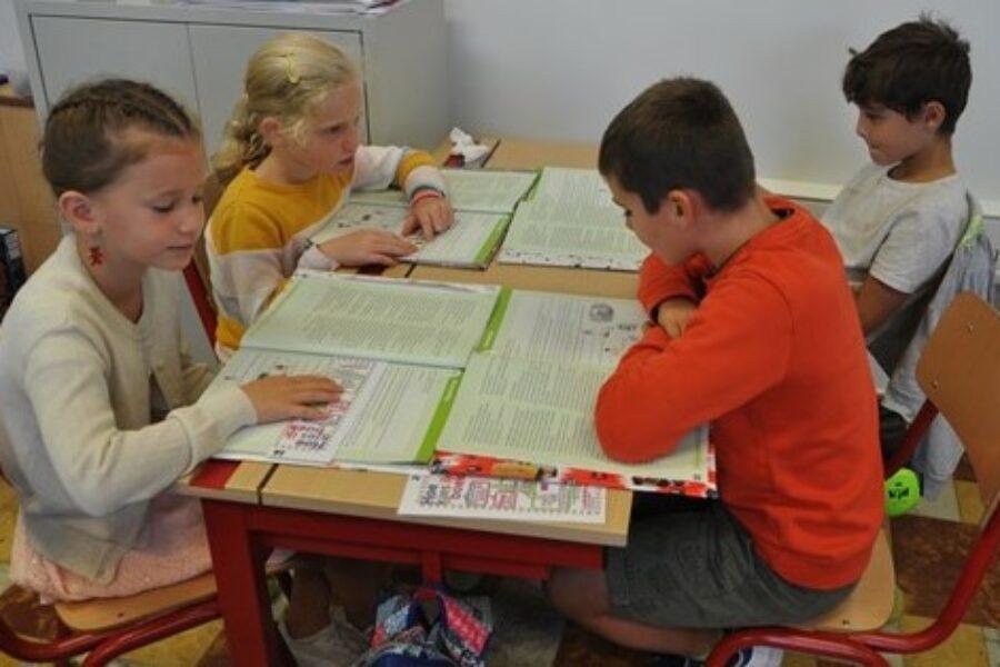 Lezen in groepjes