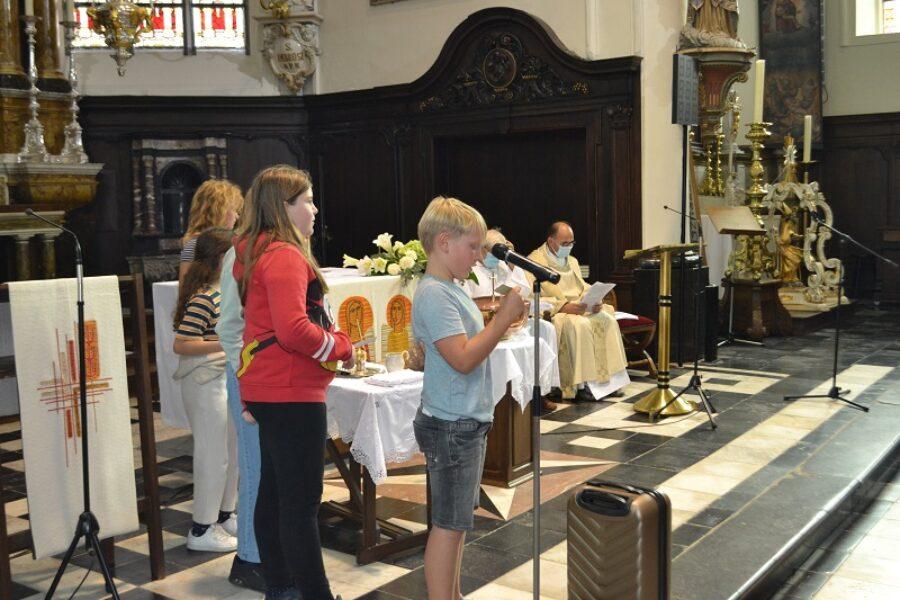 Eucharistieviering begin schooljaar