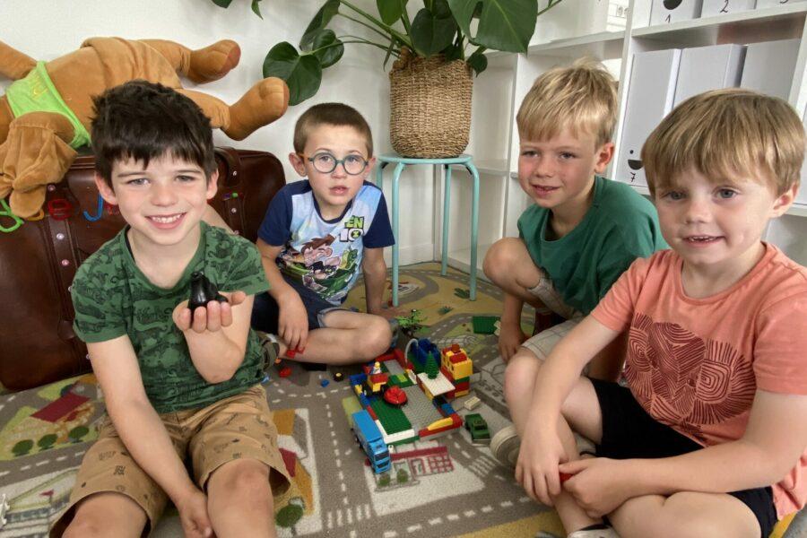 Kermisattractie met lego